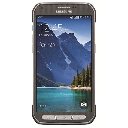 Samsung Galaxy S5 Active G870a 16GB Unlocked GSM Extremely Durable Smartphone w/ 16MP Camera - Titanium Gray