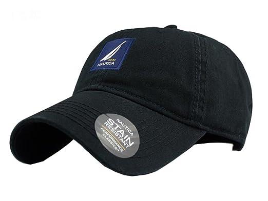 Nautica Unisex infantil ajustable Básicos Structured sombrero gorra - BDD- NAUTICA-BK, Talla