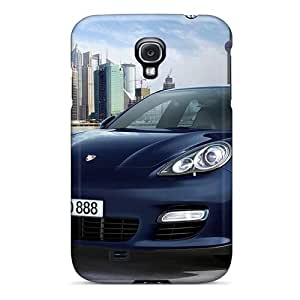 Rugged Skin Cases Covers For Galaxy S4- Eco-friendly Packaging(2010 Porsche Panamera 9)