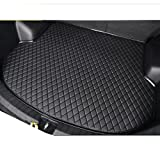Cool car automotive Black Customized special car trunk mat leather cargo mat waterproof Cargo liners for Jaguar XF XE XJ F-PACE (F-PACE)