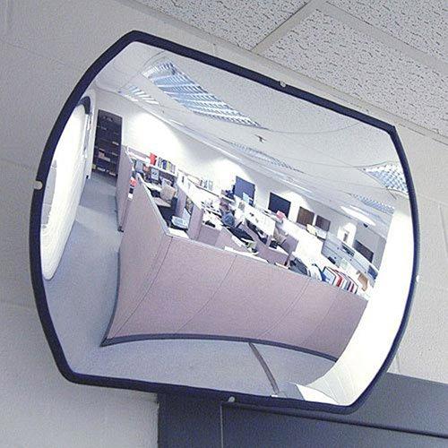 Economy Convex Roundtangular Acrylic Mirror, 18'' X 26''
