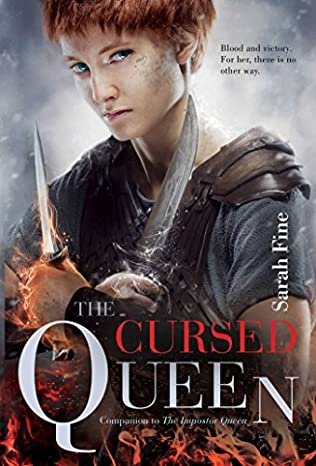 book cover of The Cursed Queen