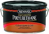 Minwax 319110000 Fast Drying Polyurethane For Floor, 2.5 Gallon, Semi-gloss