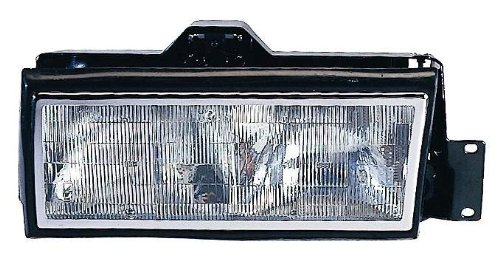 Depo 332-1173L-AS Cadillac DeVille/Fleetwood Driver Side Replacement Headlight Assembly