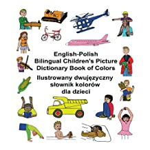 English-Polish Bilingual Children's Picture Dictionary Book of Colors