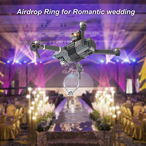 RCstyle AirDrop Release Fishing Bait Wedding Proposal Device for DJI Series (for Mavic Pro)