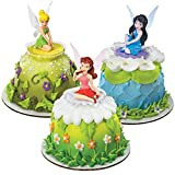 Disney Fairies Tinkerbell Friends Cake Topper Set 6 Figures
