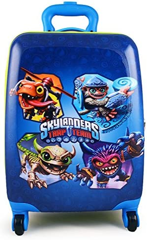 Skylanders Trap Team Brand New Exclusive Designed Kids Luggage Case