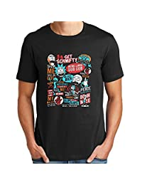 morty & rick quotes for men T shirt