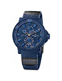 Ulysse Nardin Marine Diver Blue Ocean Blue Rubber Men Watch 263-99LE-3C