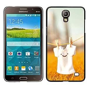 EJOY---Cubierta de la caja de protección para la piel dura ** Samsung Galaxy Mega 2 ** --Lindo T Shirt Smiley