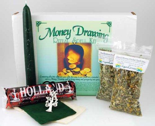 Money Drawing Boxed ritual - Drawing Ritual Money Kit
