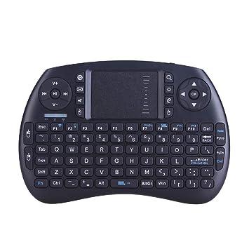 Mini Teclado Inalámbrico Y Mouse para Juegos, Teclado Táctil para Tableta Móvil, Computadora Portátil para Android TV Box: Amazon.es: Deportes y aire libre