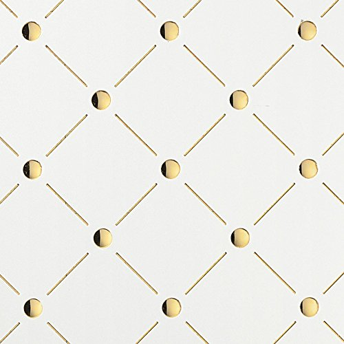 WallFace 17856 3D Wall panel self-adhesive Mosaic decor Luxury wallcovering self-adhesive pearlwhite gold | 2,60 sqm by Wallface (Image #5)