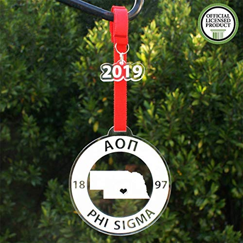 Alpha Omicron Pi Ornament