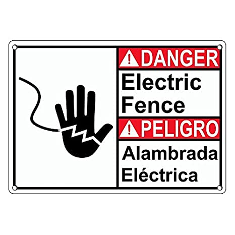 Amazon.com: De plástico resistente ANSI peligro eléctrico ...