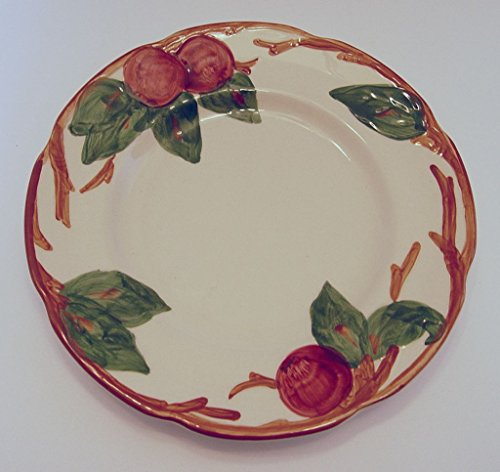 Franciscan Ware Apple Pattern Salad Plate Backstamp USA 7.75 Inches (Vintage Franciscan Ware)