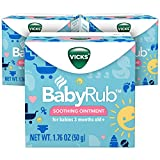 Vicks BabyRub Chest Rub Ointment, 1.76 oz