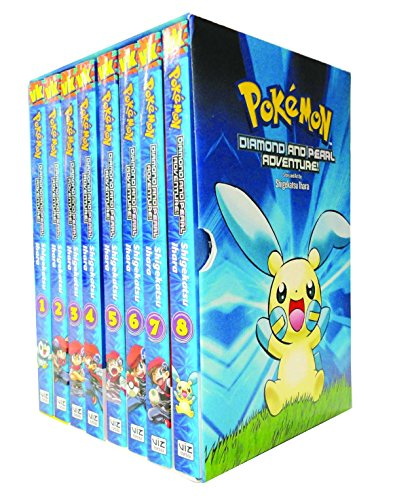 Pokemon Diamond and Pearl Adventure! Box Set (Pokemon) [Ihara, Shigekatsu] (Tapa Blanda)