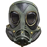 M3A1 Green Gas Mask Bio Hazard Military Halloween Adult Size