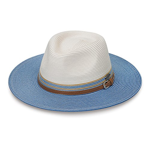Wallaroo Hat Company Kristy by Packable - UPF50+ - Ivory/Ice - Designers Hat Best