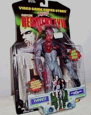 - Resident Evil > Tyrant Action Figure with Heart Pumping and Super Slash Action