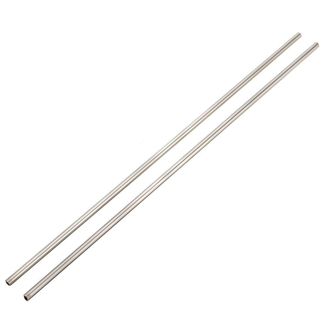 304 Stainless Steel Capillary Tube Pipe OD 6mm x 4mm ID Length 500mm