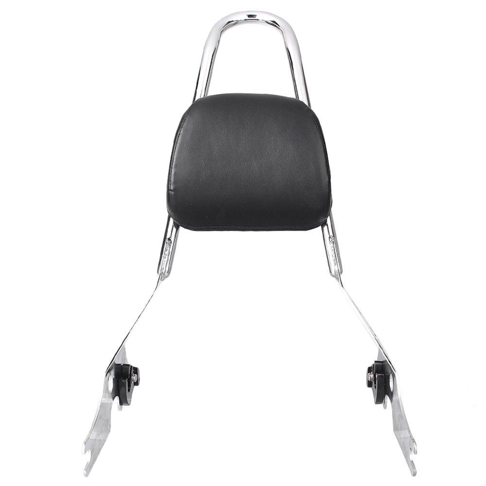 GZYF Rear Adjustable Detachable Backrest Sissy Bar for Harley-Davidson Street 500//750 2015-2017