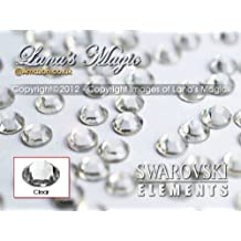 Genuine Swarovski Flat Back (NON HOT-FIX) Genuine Swarovski Flat Back (NON HOT-FIX) Crystal Rhinestones - CLEAR (Available in 7 Sizes) ((SS05 1.8mm Ø) min 50 Pieces/Bag)n 50 Pieces/Bag)