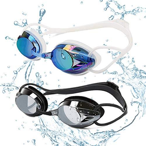 236d02984c38 Yimidon Occhiali da Nuoto, Professionali Occhialini da Piscina  Anti-Appannamento Specchio Protezione UV Impermeabile, Perfetto Regalo per  Donne, ...