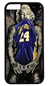 Monroe Lakers Jersey Customizable Case For Iphone 5C Cover Case