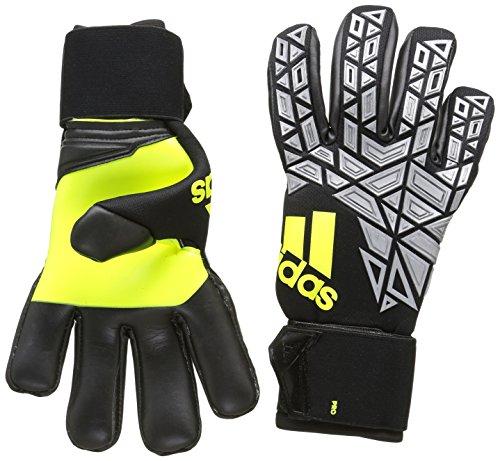 adidas Erwachsene Ace Replique Torwarthandschuhe, Solar Yellow/Black/Onix, 8.5