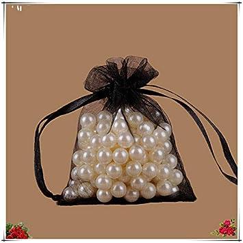 3bf491b8a8ff Amazon.com: XLPD 19 Colors 25Pcs 20X30cm Organza Bags Jewelry ...