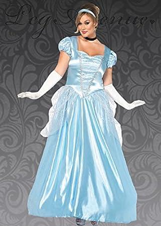 Magic Box Disfraz de Princesa Cenicienta clásica para Adultos 1X ...