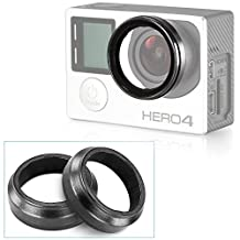 Neewer Camera Protective Lens for HD GoPro Hero 3 Hero 3+, Hero 4, 2 Pack