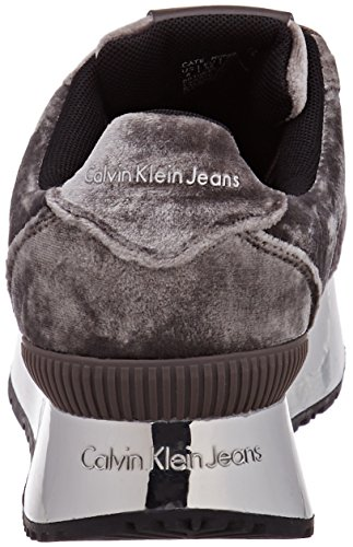 Silver Sneaker Velvet Silver Klein Multicolore Calvin Cate Donna afqnwZEYtx