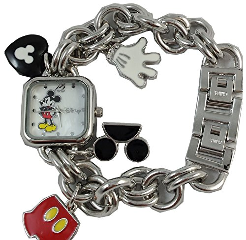 - Disney Mickey Mouse Charm Link Watch