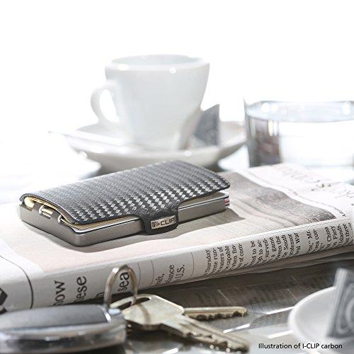 I-CLIP Geldb/örse Robutense AdvantageR Gunmetal Black Caramel in 8 Farben erh/ältlich