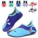 GFtime Water Shoes Toddler Boys Barefoot Swim Skin Aqua Socks Shoes Slip-on for Beach Pool Yoga Size 11.5 12 12.5 inch