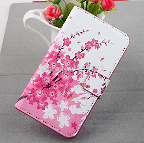 ((03)S4 mini Leather Case Stand Flip Cover Wallet With Card Holder for Samsung Galaxy S4 Mini I9190)