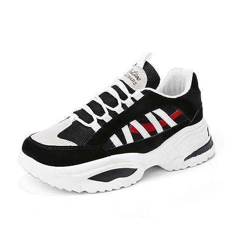 Y-H - Zapatillas de Running para Hombre Negro Negro 41