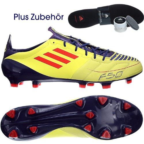 adidas F50 Adizero TRX FG Leder Gelb  Amazon.de  Schuhe   Handtaschen 15d24fb272