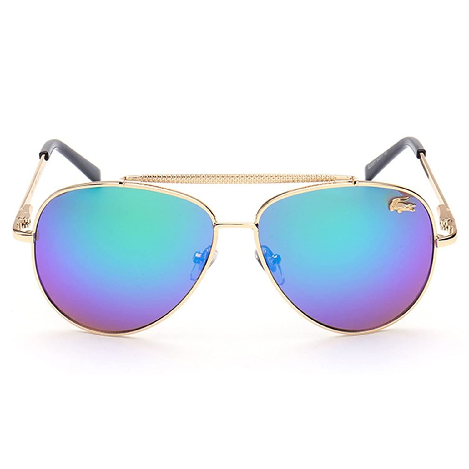 A-Royal Fashion Classic Big Frame Personality Aviator Style Polarized Driving Sunglasses