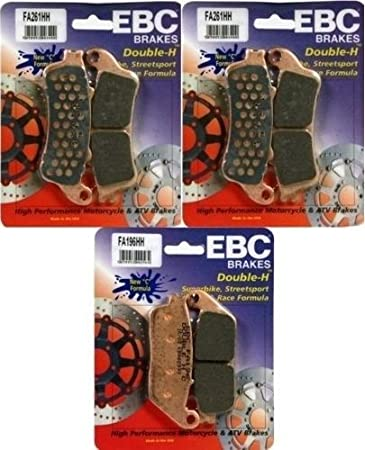 2008-2012 Victory Vison // FA261HH FA196HH 3 Sets EBC HH Front Rear Brake Pads