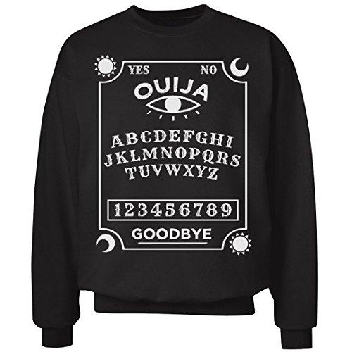 Customized Girl Ouija Board Halloween Sweatshirt: Unisex Ultimate Crewneck Sweatshirt -