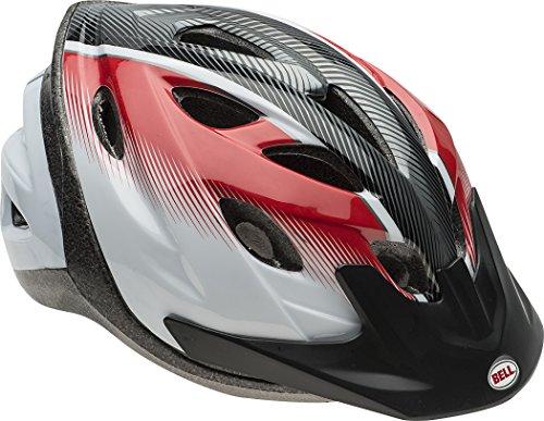 Cheap Bell Adult Red/Black/White Herringbone Torque Helmet