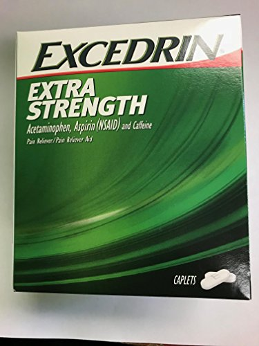 Excedrin Extra Strength Caplets 50 Packets of 2 (50/2's) Display Box (2) ()