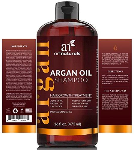 Art Naturals Argan Oil Shampoo Hair Growth Treatment