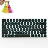 Normia Rita Iphone Tablet Phone Wireless Bluetooth Ergonomic Design Backlight Keyboard - White