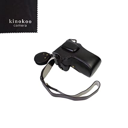 kinokoo material de piel sintética funda para cámara réflex ...